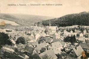 AK / Ansichtskarte Schmitten Taunus Totalansicht vom Pfaffenrod gesehen Kat. Schmitten
