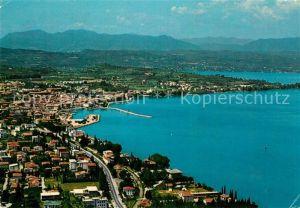 AK / Ansichtskarte Desenzano Lago di Garda Fliegeraufnahme Kat. Desenzano del Garda