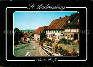 AK / Ansichtskarte Andreasberg Harz St Breite Strasse Kat. Sankt Andreasberg