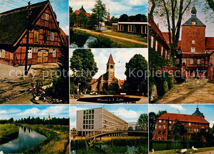 AK / Ansichtskarte Winsen Luhe Luhe Kreishaus Schlosshof  Kat. Winsen (Luhe)