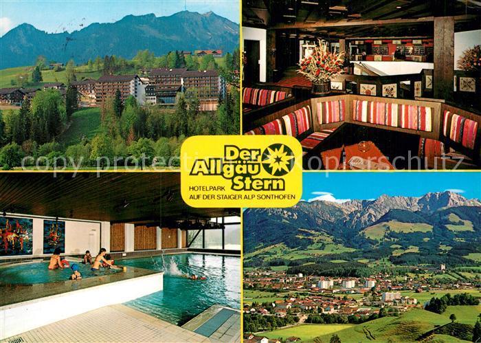 Ak ansichtskarte sonthofen oberallgaeu hotelpark der allgaeu stern kat sonthofen nr kc85244 for Hotel in sonthofen