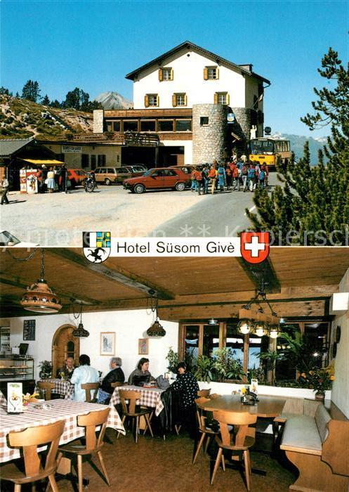 AK / Ansichtskarte Ofenpass Berghotel Suesom Give Kat. Zernez