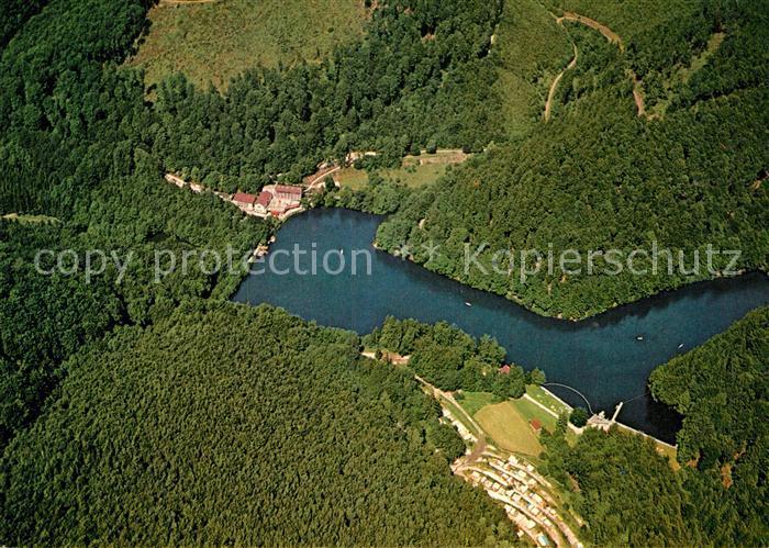 AK / Ansichtskarte Bad Lauterberg Fliegeraufnahme Kurhotel Wiesenbeker Teich Kat. Bad Lauterberg im Harz