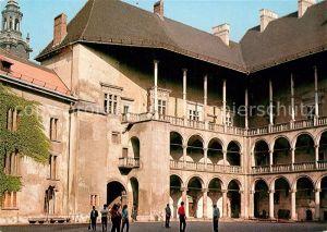 AK / Ansichtskarte Krakow Krakau Zamek Krolewki na Wawelu arkadowy dziedziniec