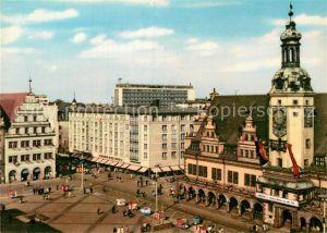 AK / Ansichtskarte Leipzig Blick auf den Markt Kat. Leipzig