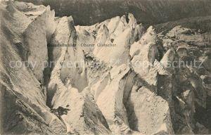 AK / Ansichtskarte Grindelwald Oberer Gletscher Gebirgspanorama Berner Alpen Kat. Grindelwald