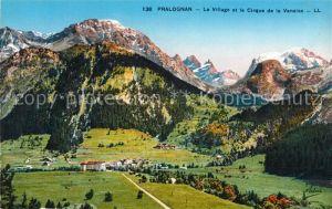 AK / Ansichtskarte Pralognan la Vanoise Le Village et Cirque de la Vanoise Kat. Pralognan la Vanoise