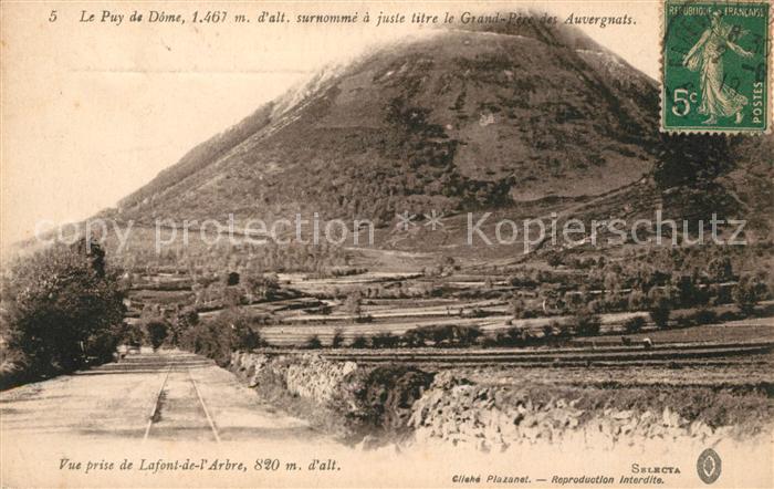 AK / Ansichtskarte Auvergne Region Le Puy de Dome Kat. Clermont Ferrand