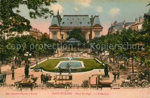 AK / Ansichtskarte Saint Etienne Loire Place Marengo La Prefecture Kat. Saint Etienne