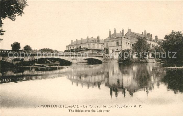AK / Ansichtskarte Montoire sur le Loir Pont  Kat. Montoire sur le Loir