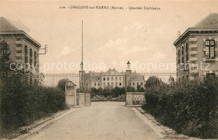 AK / Ansichtskarte Chalons sur Marne Ardenne Quartier Corbineau Kat. Chalons en Champagne