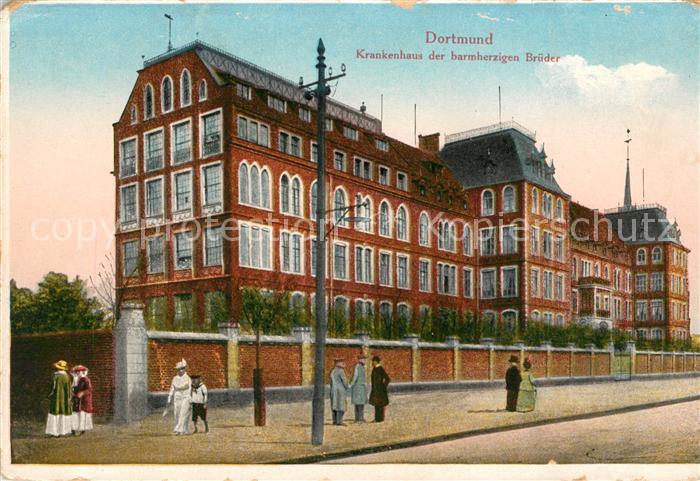AK / Ansichtskarte Dortmund Krankenhaus barmherzige Brueder Kat. Dortmund