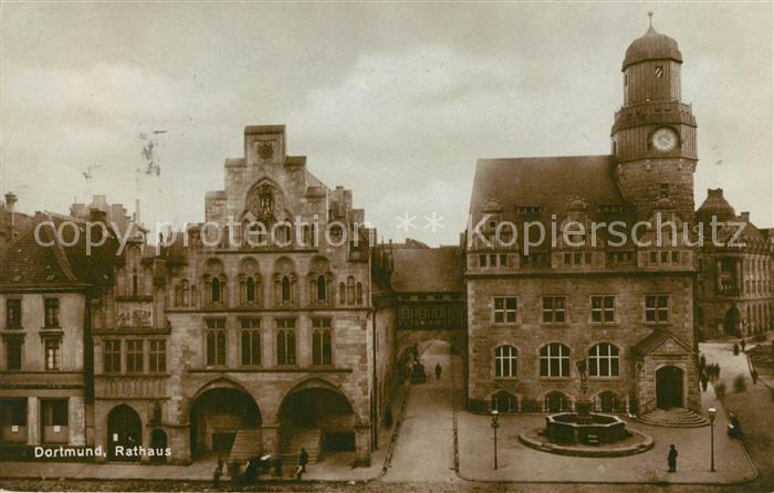 AK / Ansichtskarte Dortmund Rathaus Kat. Dortmund