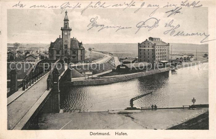 AK / Ansichtskarte Dortmund Hafen Kat. Dortmund