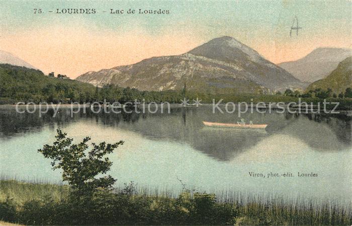 AK / Ansichtskarte Lourdes Hautes Pyrenees Lac de Lourdes Kat. Lourdes