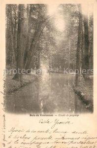 AK / Ansichtskarte Raincy Le Bachauf im Wald Kat. Le Raincy