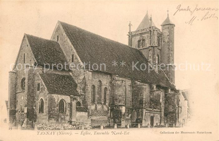 AK / Ansichtskarte Tannay Nievre Kirche Kat. Tannay