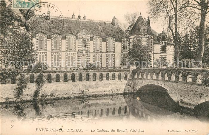 AK / Ansichtskarte Breuil Rhone Le Schloss Kat. Le Breuil