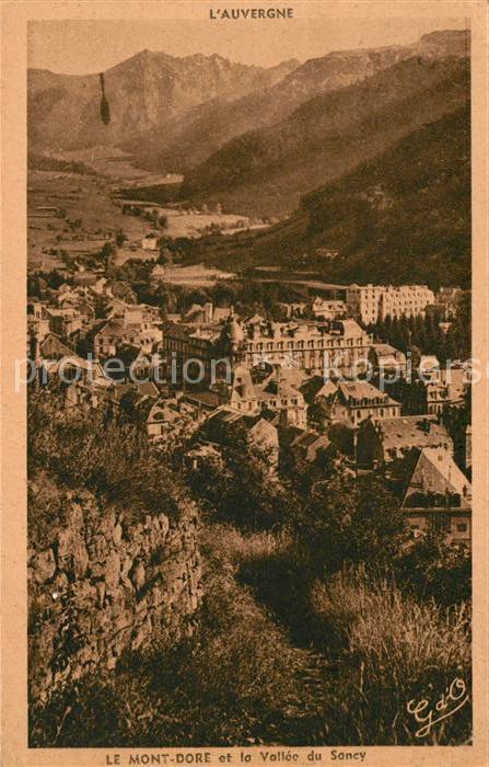 AK / Ansichtskarte Le Mont Dore Vallee du Soncy Kat. Mont Dore