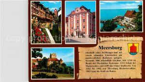 AK / Ansichtskarte Meersburg Bodensee An der Steige Neues Schloss Hafen Altes Schloss Kat. Meersburg