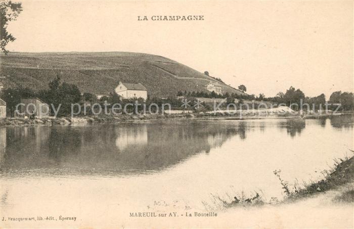 AK / Ansichtskarte Mareuil sur Ay La Bouteille Kat. Mareuil sur Ay