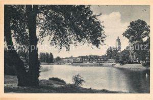 AK / Ansichtskarte Magdeburg Adolf Mittag See Kat. Magdeburg