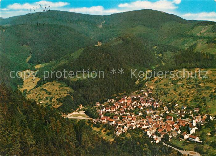 AK / Ansichtskarte Langenbrand Forbach Fliegeraufnahme Kat. Forbach