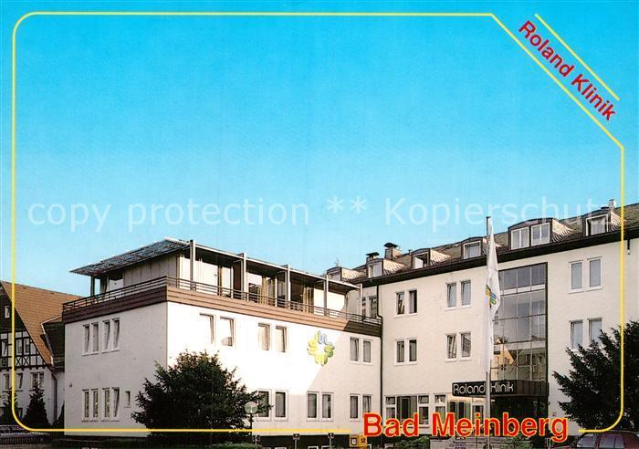 4934 bad meinberg brunnen klinik nr 231701714 oldthing ansichtskarten deutschland plz 30. Black Bedroom Furniture Sets. Home Design Ideas