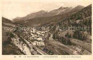 AK / Ansichtskarte Lanslebourg Mont Cenis Panorama l Arc et le Mont Cenis Kat. Lanslebourg Mont Cenis