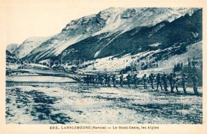 AK / Ansichtskarte Lanslebourg Mont Cenis Mont Cenis les Alpins Kat. Lanslebourg Mont Cenis