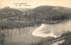 AK / Ansichtskarte Vers Lot Le Barrage Collection Le Lot Pittoresque Kat. Vers