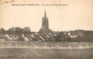 AK / Ansichtskarte Bethisy Saint Pierre Vue prise de la Douye Eglise Kat. Bethisy Saint Pierre