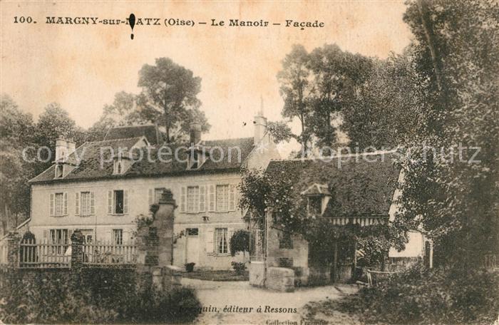 AK / Ansichtskarte Margny sur Matz Le Manoir facade Kat. Margny sur Matz