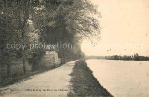 AK / Ansichtskarte Neuville sur Oise Oise le long du Parc du Chateau Kat. Neuville sur Oise