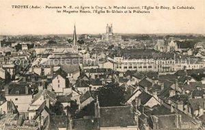AK / Ansichtskarte Troyes Aube Panorama vue sur la ville Kat. Troyes