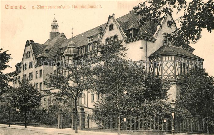 AK / Ansichtskarte Chemnitz Zimmermann sche Naturheilanstalt Kat. Chemnitz