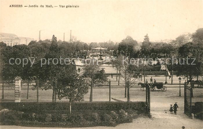 AK / Ansichtskarte Angers Jardin du Mail Kat. Angers Nr. sa18492 ...
