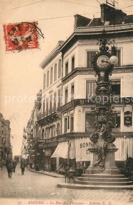 AK / Ansichtskarte Amiens Rue des Vergeaux Kat. Amiens