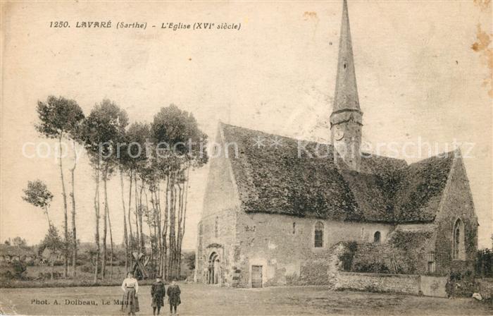 AK / Ansichtskarte Lavare Eglise XVI siecle Kat. Lavare