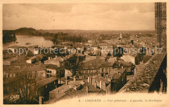 AK / Ansichtskarte Libourne la Dordogne Kat. Libourne