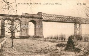 AK / Ansichtskarte Cubzac les Ponts Pont des Pietons Kat. Cubzac les Ponts
