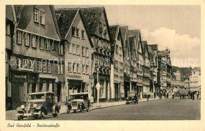 AK / Ansichtskarte Bad Hersfeld Breitenstrasse Kat. Bad Hersfeld