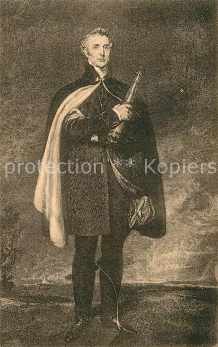 AK / Ansichtskarte Napoleon Bonaparte Duc de Wellington Waterloo Kat. Persoenlichkeiten