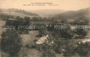 AK / Ansichtskarte Camp de la Courtine Vallee de Laval Kat. Creuse