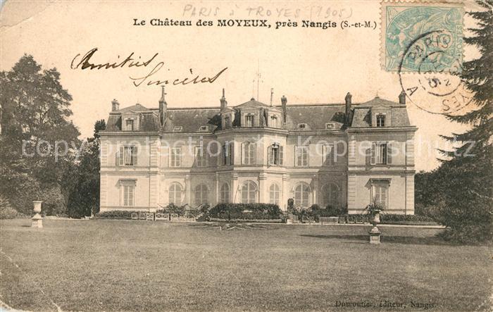 AK / Ansichtskarte Nangis Chateau des Moyeux Kat. Nangis