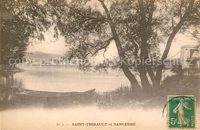 AK / Ansichtskarte Saint Thibault Cher et Sancerre