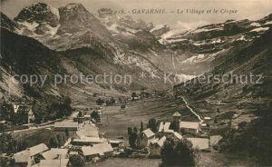 AK / Ansichtskarte Gavarnie Hautes Pyrenees Le Village et le Cirque Kat. Gavarnie