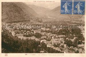 AK / Ansichtskarte Luchon Haute Garonne Vue generale prise de la Chaumiere Pyrenees Centrales Kat. Bagneres de Luchon