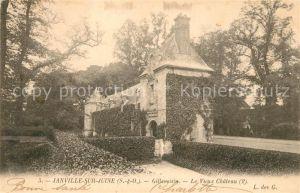 AK / Ansichtskarte Janville sur Juine Gillevoisin le vieux Chateau Kat. Janville sur Juine