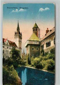 AK / Ansichtskarte Braunschweig Burggraben Kat. Braunschweig